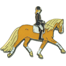 "Lapel Pin ""Haflinger with Rider"""