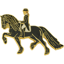 "Lapel Pin ""Frisian Dressage"""