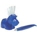 "Pen Holder with Brush ""Pony"", Blue"