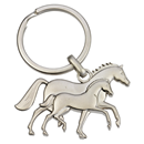 "3D Keyring ""Mare and Foal"""