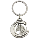 "Coin Holder ""Horseshoe with Horse Head"""