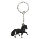 "Soft Keyring ""Pony"", black"