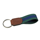 "Leather Keyring ""Horseshoe"""