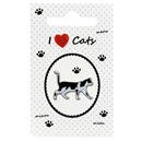 "Pin ""I love Cats"""