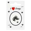 "Pin ""I love Dogs"""