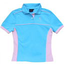 Polo Shirt, Blue, Size L