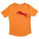 T-Shirt, Orange, Size L