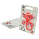 "Suction Hook ""Gecko"", red, Pack of 5"
