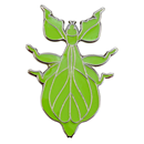 "Lapel Pin ""Walking Leaf"""