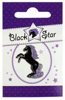 "Lapel Pin ""Black Star"""